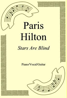 Okładka: Paris Hilton, Stars Are Blind