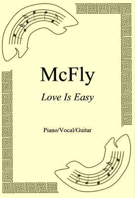 Okładka: McFly, Love Is Easy
