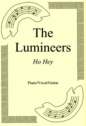 Ok�adka: The Lumineers, Ho Hey