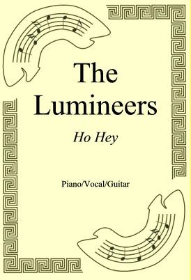 Okładka: The Lumineers, Ho Hey