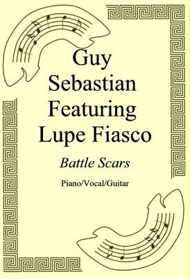 Okładka: Guy Sebastian Featuring Lupe Fiasco, Battle Scars