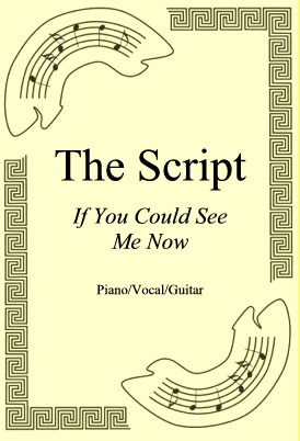 Ok�adka: The Script, If You Could See Me Now
