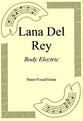 Okładka: Lana Del Rey, Body Electric