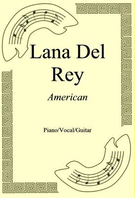 Okładka: Lana Del Rey, American
