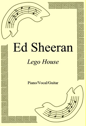 Okładka: Ed Sheeran, Lego House