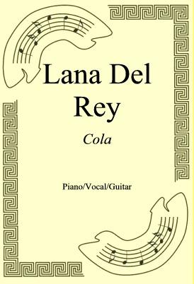 Okładka: Lana Del Rey, Cola