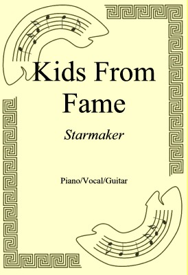 Okładka: Kids From Fame, Starmaker