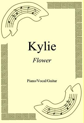 Okładka: Kylie, Flower