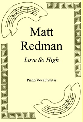 Ok�adka: Matt Redman, Love So High