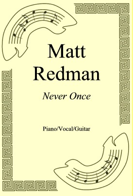 Ok�adka: Matt Redman, Never Once