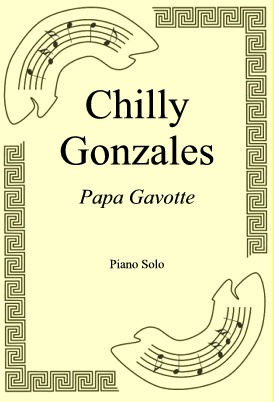 Okładka: Chilly Gonzales, Papa Gavotte