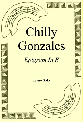 Okładka: Chilly Gonzales, Epigram In E