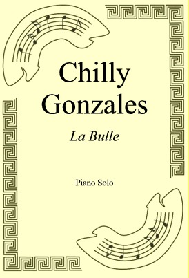 Okładka: Chilly Gonzales, La Bulle