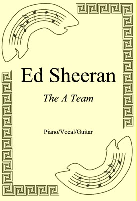 Okładka: Ed Sheeran, The A Team