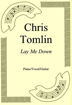 Okładka: Chris Tomlin, Lay Me Down