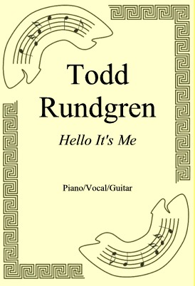 Okładka: Todd Rundgren, Hello It's Me