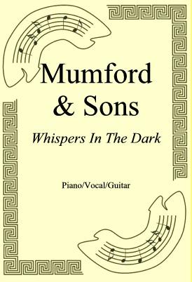 Ok�adka: Mumford & Sons, Whispers In The Dark