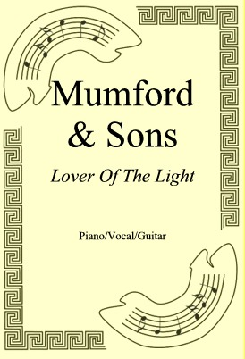 Okładka: Mumford & Sons, Lover Of The Light