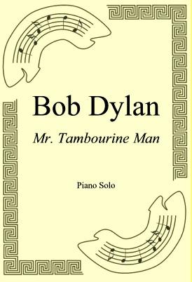 Okładka: Bob Dylan, Mr. Tambourine Man