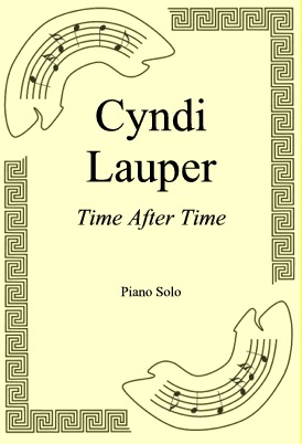 Okładka: Cyndi Lauper, Time After Time
