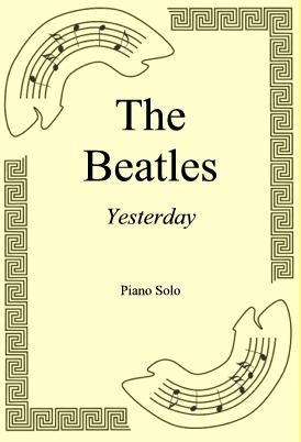 Okładka: The Beatles, Yesterday