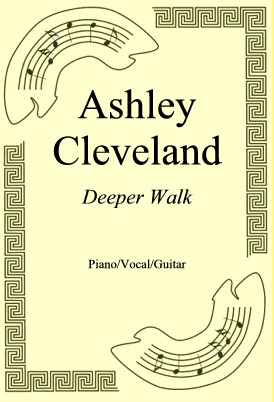 Okładka: Ashley Cleveland, Deeper Walk
