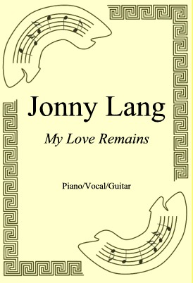 Okładka: Jonny Lang, My Love Remains