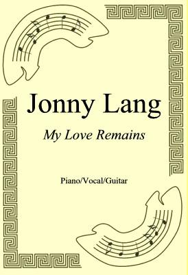 Okładka: Jonny Lang, My Love Remains
