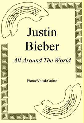 Ok�adka: Justin Bieber, All Around The World