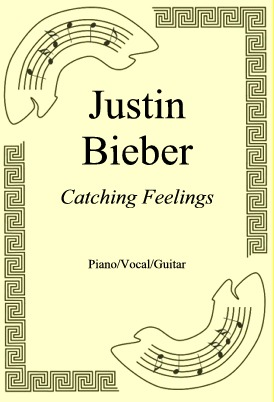 Okładka: Justin Bieber, Catching Feelings