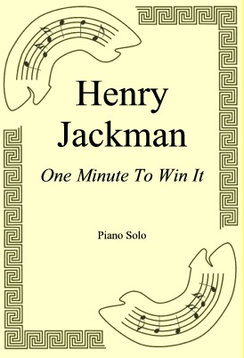 Ok�adka: Henry Jackman, One Minute To Win It
