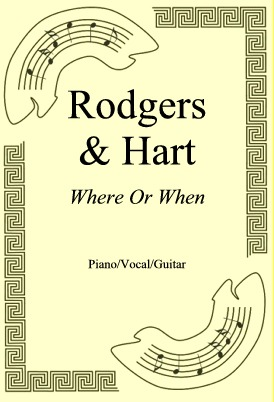 Okładka: Rodgers & Hart, Where Or When