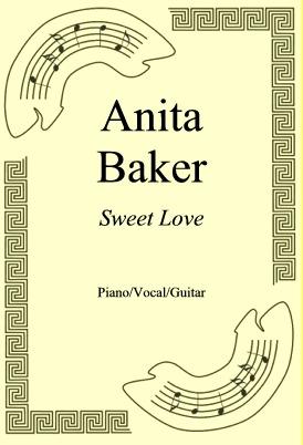 Okładka: Anita Baker, Sweet Love