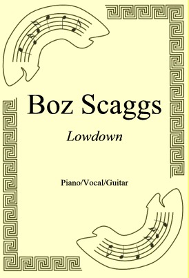 Okładka: Boz Scaggs, Lowdown