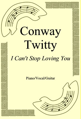 Okładka: Conway Twitty, I Can't Stop Loving You