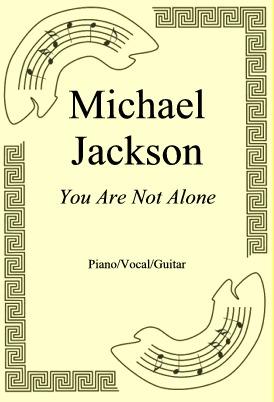 Okładka: Michael Jackson, You Are Not Alone