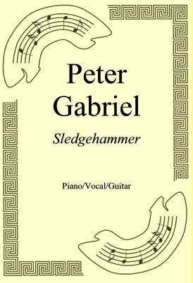 Ok�adka: Peter Gabriel, Sledgehammer
