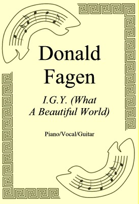 Okładka: Donald Fagen, I.G.Y. (What A Beautiful World)