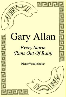 Okładka: Gary Allan, Every Storm (Runs Out Of Rain)