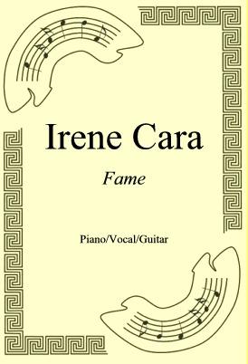 Okładka: Irene Cara, Fame