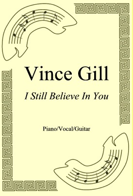 Okładka: Vince Gill, I Still Believe In You