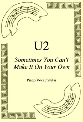 Okładka: U2, Sometimes You Can't Make It On Your Own