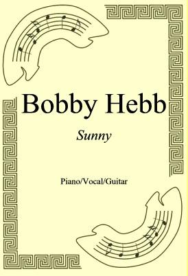 Ok�adka: Bobby Hebb, Sunny