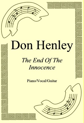 Okładka: Don Henley, The End Of The Innocence