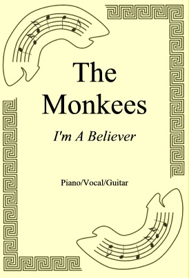 Ok�adka: The Monkees, I'm A Believer