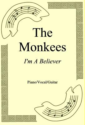 Okładka: The Monkees, I'm A Believer