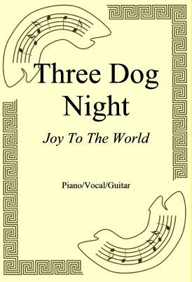 Ok�adka: Three Dog Night, Joy To The World