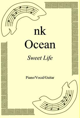 Ok�adka: Frank Ocean, Sweet Life