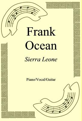 Ok�adka: Frank Ocean, Sierra Leone