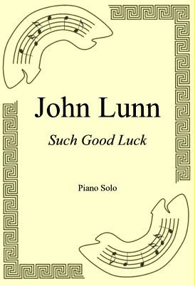 Okładka: John Lunn, Such Good Luck